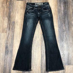 Hydraulic Jeans. Metro Flare. Size 3/4 Regular